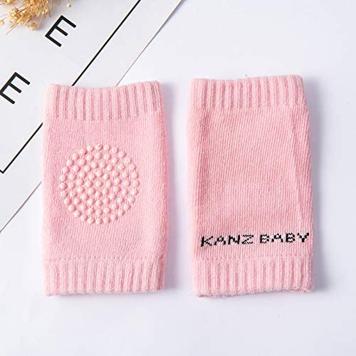 Baby Knee Socks CoKu Baby Knee Pads Five pairs Child Knee Protection Baby Knee Guards Non-Slip Cotton Unisex Knee Knee Guards