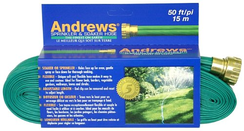 Andrews 50-Foot 2 Tube Sprinkler Hose 10-12348