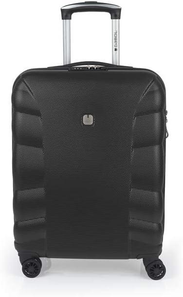 Gabol - London | Maleta de Cabina Rigidas de 40 x 55 x 20 cm con Capacidad para 47 L de Color Negro