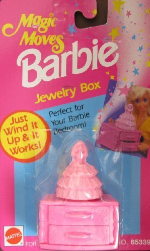 Barbie Magic Moves JEWELRY BOX - Just Wind It Up & It Works! (1993 Arcotoys, Mattel)