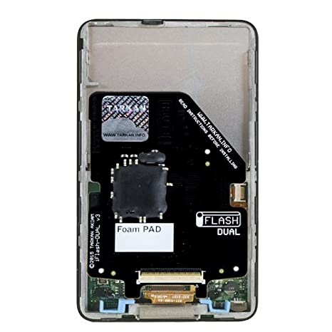 Tarkan iFlash-Dual SD Card Adapter For iPod. Replace your iPods Hard Drive With Two SDHC or SDXC Storage Cards to Modernize Your iPod 5th Gen (aka. ...