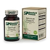 Standard Process - Cellular Vitality - Vitamin B1, B2, B6, Folate, B12, Biotin, CoQ10, Supports Healthy Cellular Processes and Provides Antioxidant Activity, Gluten Free and Vegetarian - 90 Capsules