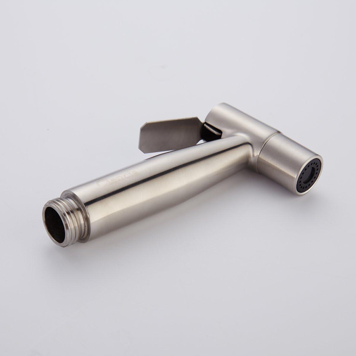 pulv/érisateur de bidet de main seulement pour la toilette WS024 CIENCIA pulv/érisateur de bidet tenu dans la main de qualit/é sup/érieure pulv/érisateur dacier inoxydable Shattaf