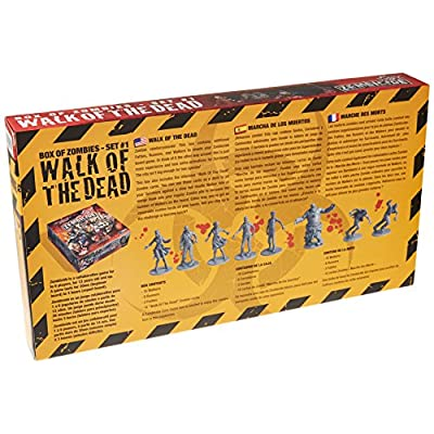 CMON Zombicide: Walk of The Dead Box: Toys & Games
