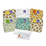 Bambino Mio, Miosolo Cloth Diaper Set, Onesize, Geometric