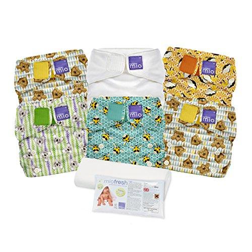 Bambino Mio, Miosolo Cloth Diaper Set, Onesize, Geometric by Bambino Mio