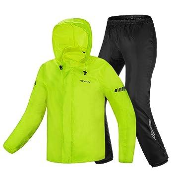 YXF-Chubasqueros Espesar Traje de Pantalones Impermeable ...