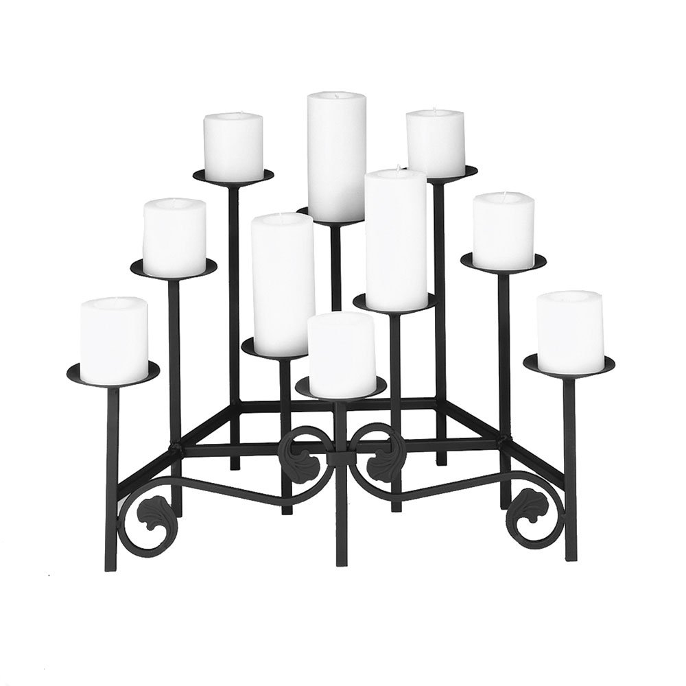 Minuteman International X304100 Black Candelabra by Minuteman International