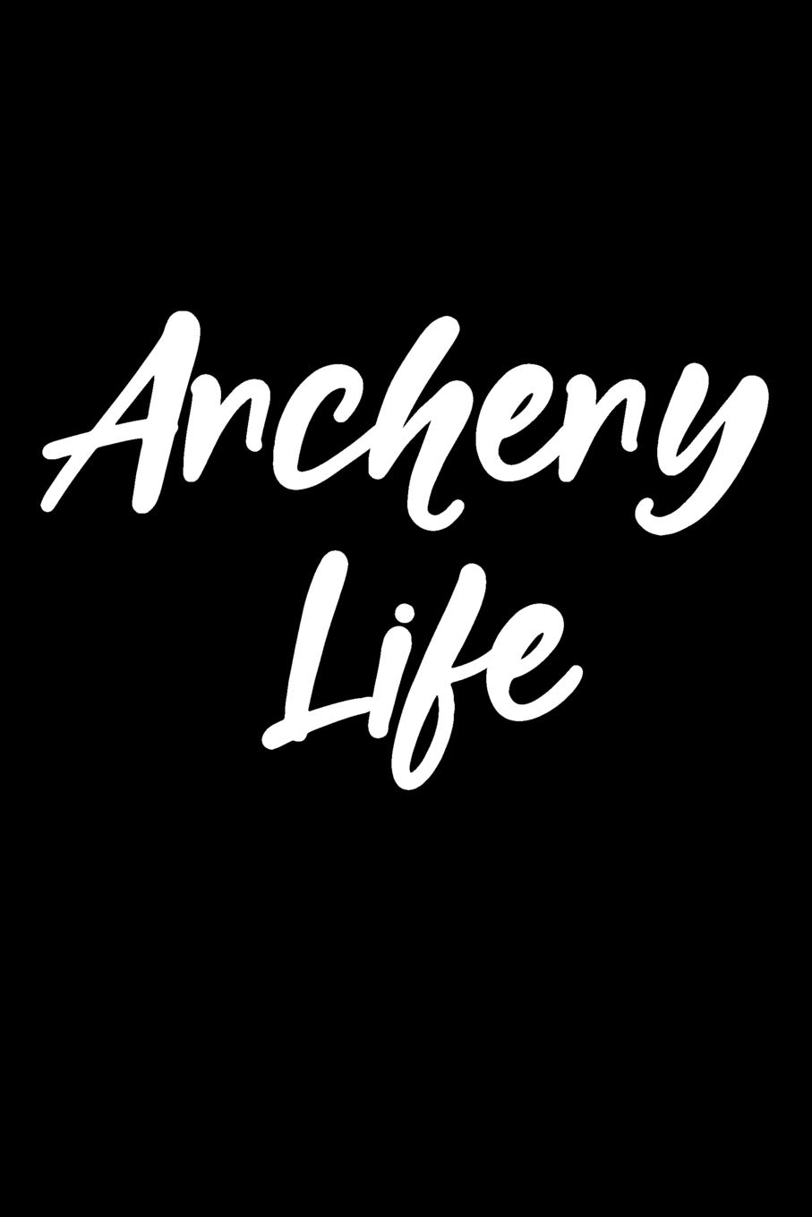 Amazon com: Archery Life: Blank Lined Journal College Rule