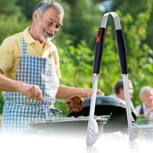 Gdealer bbq grill tools 4 pieces your pretty garden for Pretty garden tools set