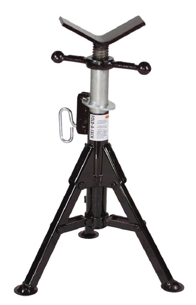 Sumner Manufacturing 781310 ST-981 Lo Fold-A- Jack, Vee Head, 21'' to 36'' Adjustable Height, 2,500 lb. Capacity by Sumner