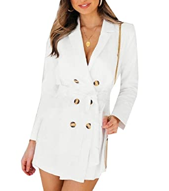 Amazon.com: Whitive - Chaqueta para mujer, elegante, de ...