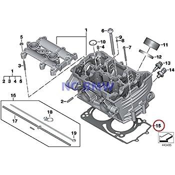 BMW Genuine Motorcycle Cylinder Head Gasket 1.025MM 1-LOCH HP4 S1000RR S1000R