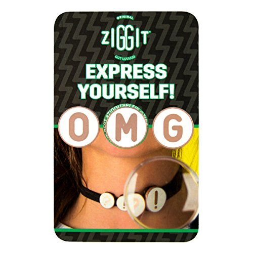 Ziggit - OMG -Rose Gold & White - Set of 3 - For Clothes/Shoelaces/Chokers/Bras/Bikinis/Headbands/Belt Loops/Anything Else You Can Think Of! from Ziggit