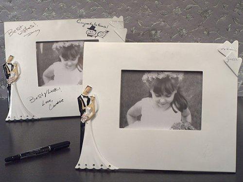Best Wedding Wishes Photo - Best wishes Signature photo frame