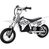 Razor MX400 Dirt Rocket Electric Motorcycle, White