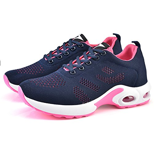 Running Women's Sneakers 4 Blue Shoes Breathable Athletic Walking Fashion Colors 6rqxFXPrt