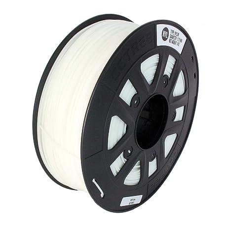 L-MEIQUN,Impresora 3D Nylon 1.75MM Filamento Blanco 1KG para ...