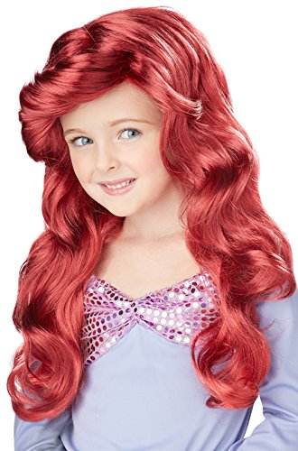 Costumes Childrens Wigs (Little Mermaid Wig (Red) Child)