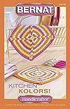 Spinrite Bernat Knitting and Crochet Patterns, Kitchen Kolors Handicrafter