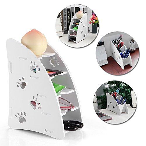 Soportes teledirigidos de la TV, estante de almacenamiento de la fuente de ABEDOE Office para la sala de estar Oficina del cuarto de baño del dormitorio (Pack of 1X) Pack of 4Pcs