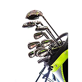Droc – Nikki Signature Series Right Hand 13 Pcs Men Golf Club Set & Golf Bag (Adult)