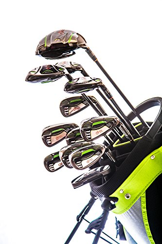 Droc - Nikki Signature Series Right Hand 13 Pcs Men Golf Club Set & Golf Bag (Golf Tournament Packages)