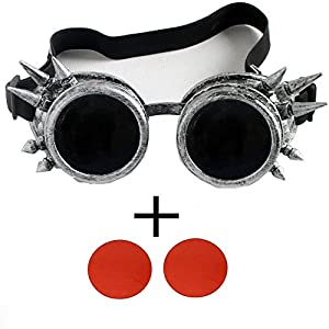 FIRSTLIKE retro steam punk glasses corner Victoria gorgeous glasses clothing accessories color lens