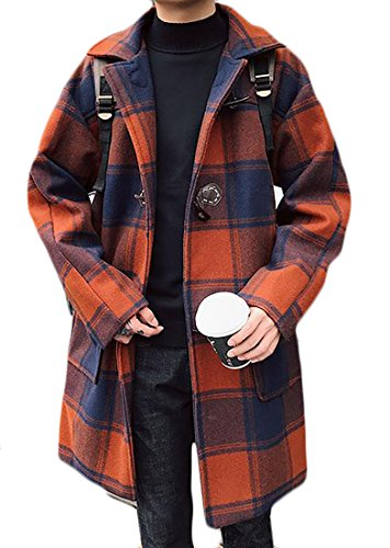 Plaid Toggle Jacket - 9