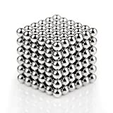 Magnetic Ball, LIKEE Magnetic Sculpture Toys for Intelligence Development and Stress Relief (5MM 216 Magnetic Balls)