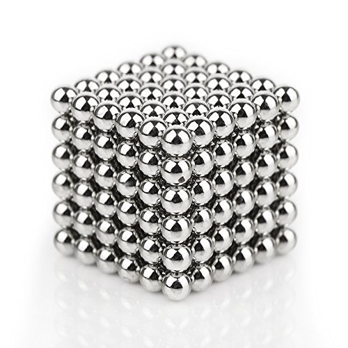 : Magnetic Ball, LIKEE Magnetic Sculpture Toys for Intelligence Development and Stress Relief (5MM 216 Magnetic Balls)