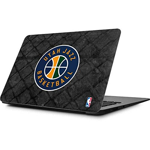 Skinit NBA Utah Jazz MacBook Air 11.6 (2010-2016) Skin - Utah Jazz Black Rust Design - Ultra Thin, Lightweight Vinyl Decal Protection by Skinit