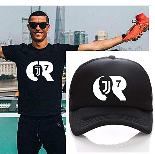 7610748bb7509 LONIY Baseball Hat Kids Adult Summer Caps Fans Juventus Trucker Cap JJ Net  Snapback Hats
