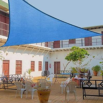 Interlink Parasol Triangular Patio, Patio, Patio, Patio, Patio, pérgola al Aire Libre: Amazon.es: Jardín