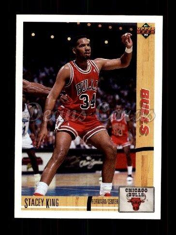 1991 Upper Deck # 182 Stacey King Chicago Bulls (Basketball Card) Dean's Cards 8 - NM/MT Bulls