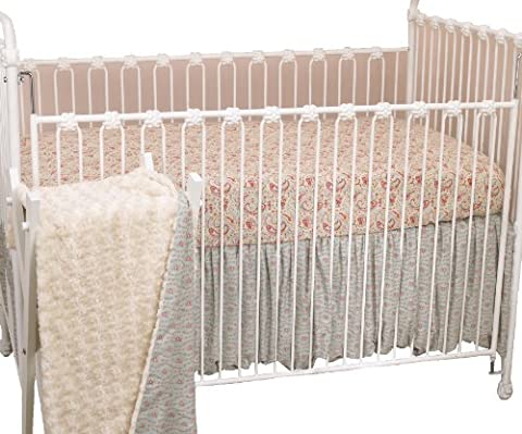 Cotton Tale Designs 3 Piece Crib Bedding Set, Tea Party (Cotton Tale Tea Party Bedding)