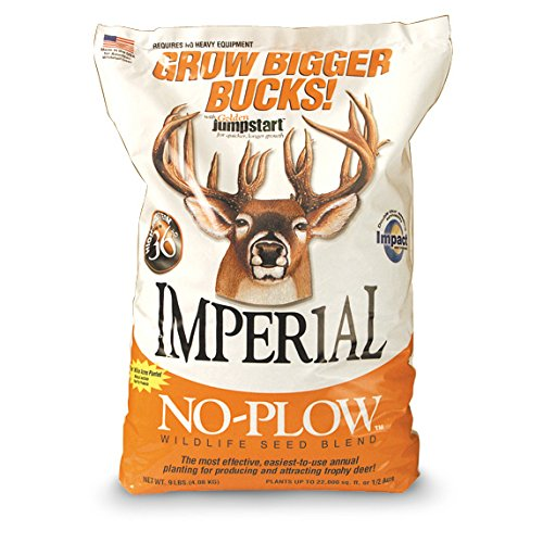 "Feed Deer Imperial (Whitetail Institute Imperial ""No-Plow"" Food Plot Seed (Spring and Fall Planting), 9-Pound (.5 acre))"