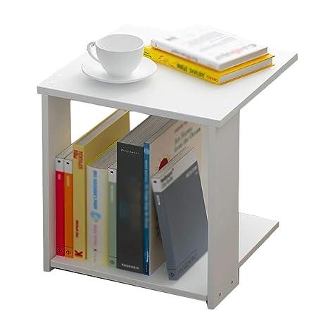 Amazon.com: YULAN Storage Side Table Coffee Table Storage ...