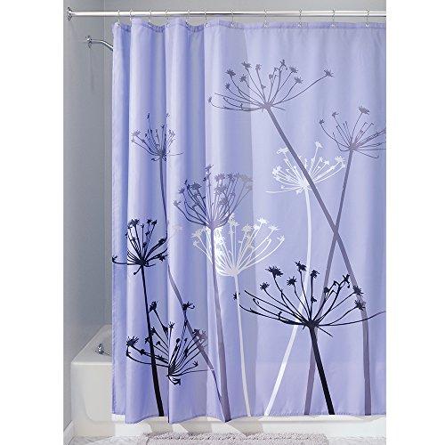 InterDesign Thistle Fabric Curtain 72 Inch