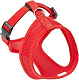 Coastal Pet Products DCP6313RED Nylon Comfort Soft Adjustable Dog Harness, XX-Small, Red