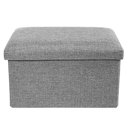 Storage Ottoman Polyester Folding Stool,Foot Rest Seat,Clutter Toys Collection 16