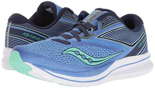 Saucony Women's Kinvara 9 Running Shoe, Blue/Teal, 6.5 Medium US