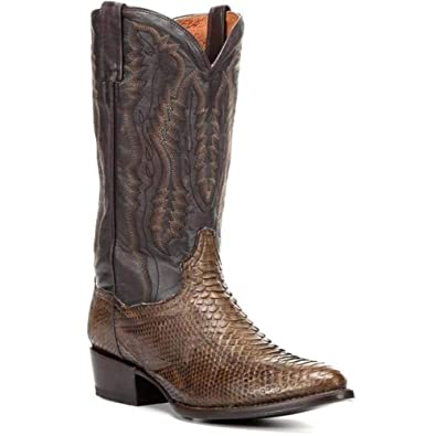 06f7a845033 Amazon.com | Men's Dan Post Omaha Python Snakeskin Boots Handcrafted ...