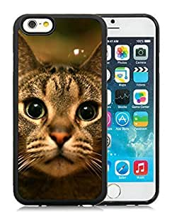 2014 New Style iPhone 6 Case,Christmas Cat Black iPhone 6 4.7 Inch TPU Case 12