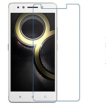 QAWACHH reg; Tempered Glass for Lenovo k8 Plus,Pack of 2 with Wipes Kit Screen guards