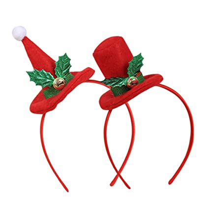 Christmas Headband For Adults.Armilum Christmas Headbands Xmas Hat Santa Xmas Headband