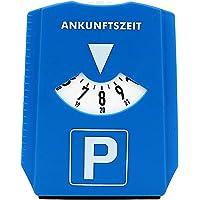 Disco de estacionamiento del automóvil Muestra de Tiempo