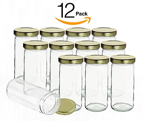 Pack Clear Glass Jars Applications