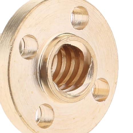 Sharplace Tornillo de Cabeza Varilla Roscada de 8mm Complimentos ...