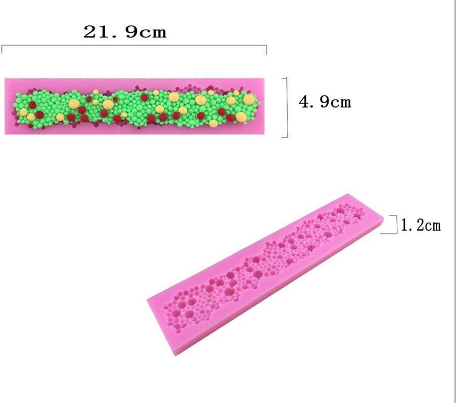Zeagro Molde de Silicona para Tarta con dise/ño de Flores y Encaje